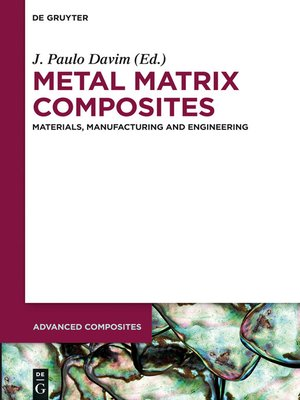 cover image of Metal Matrix Composites