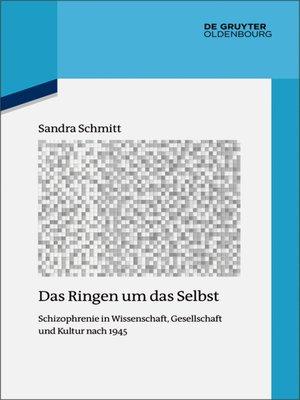cover image of Das Ringen um das Selbst