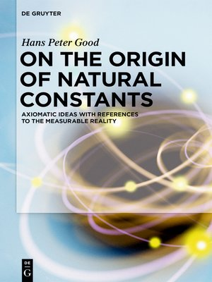 cover image of On the Origin of Natural Constants