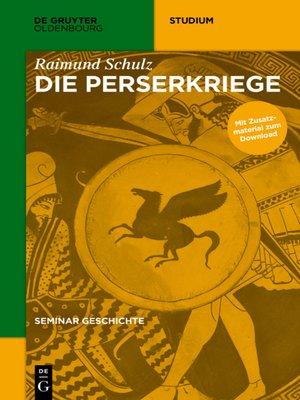 cover image of Die Perserkriege