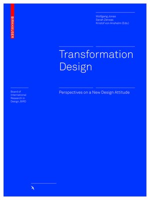 cover image of Transformation Design