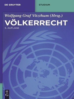 cover image of Völkerrecht