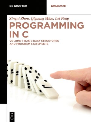 cover image of Basic Data Structures and Program Statements