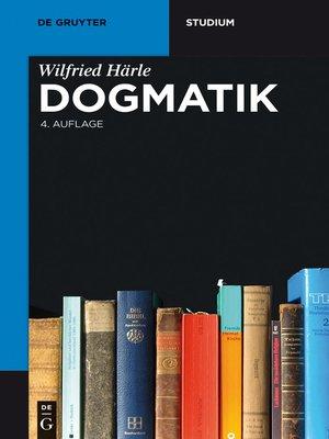 cover image of Dogmatik