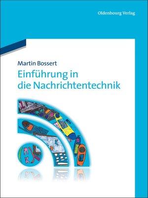 cover image of Einführung in die Nachrichtentechnik