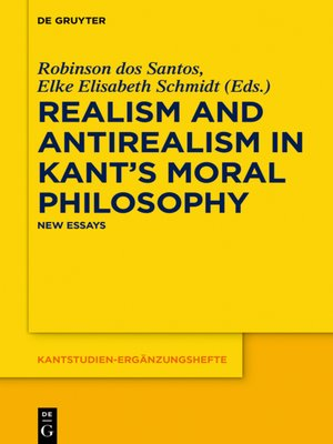 cover image of Realism and Antirealism in Kant's Moral Philosophy