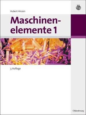 cover image of Maschinenelemente 1
