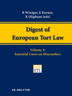 cover image of Essential Cases on Misconduct