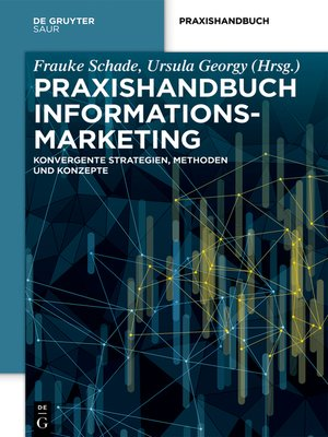 cover image of Praxishandbuch Informationsmarketing
