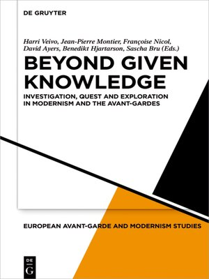 cover image of Beyond Given Knowledge