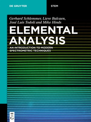 cover image of Elemental Analysis