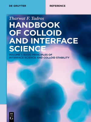 cover image of Basic Principles of Interface Science and Colloid Stability