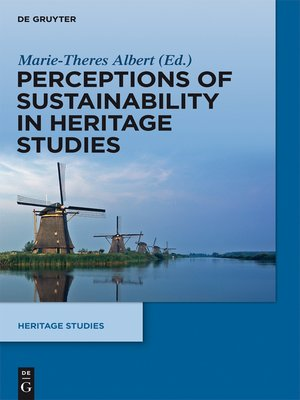 cover image of Perceptions of Sustainability in Heritage Studies