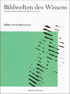 cover image of Bilder ohne Betrachter