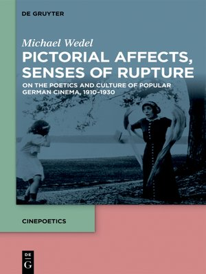 cover image of Pictorial Affects, Senses of Rupture