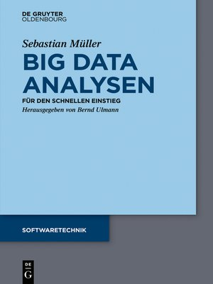 cover image of Big Data Analysen