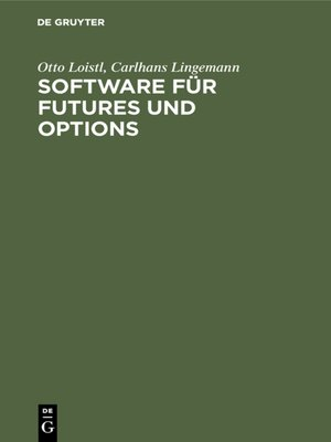 cover image of Software für Futures und Options