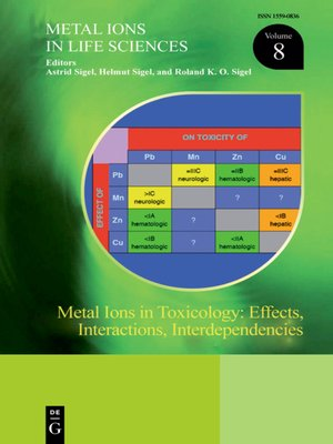 cover image of Metal Ions in Toxicology