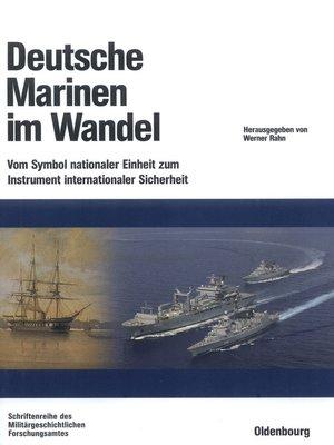 cover image of Deutsche Marinen im Wandel
