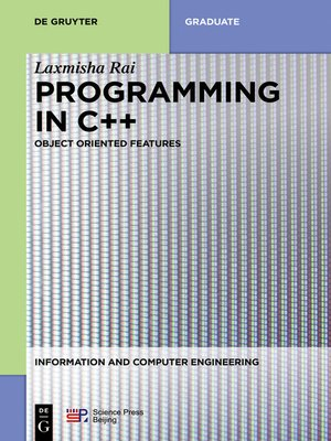 cover image of Programming in C++