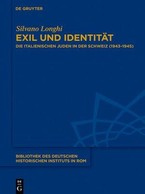 cover image of Exil und Identität