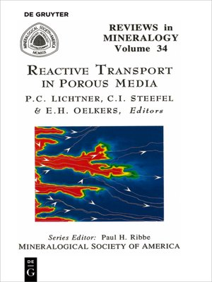 cover image of Reactive Transport in Porous Media