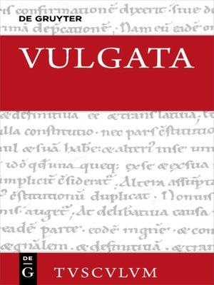 cover image of Evangelia--Actus Apostolorum--Epistulae Pauli--Epistulae Catholicae--Apocalypsis--Appendix