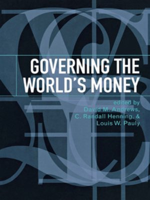 cover image of Governing the World's Money
