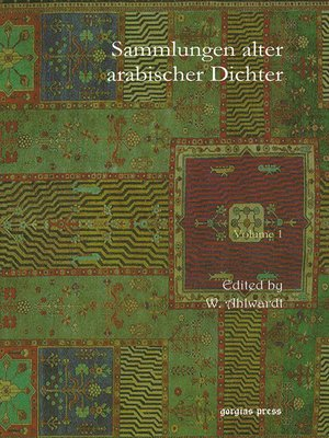 cover image of Sammlungen alter arabischer Dichter