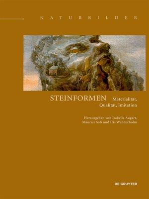 cover image of Steinformen