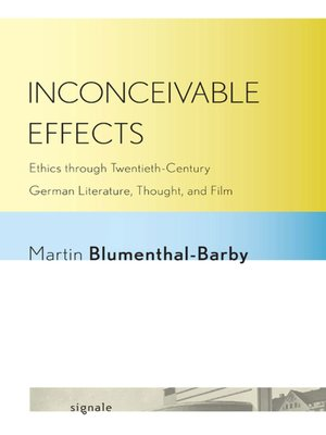 cover image of Inconceivable Effects