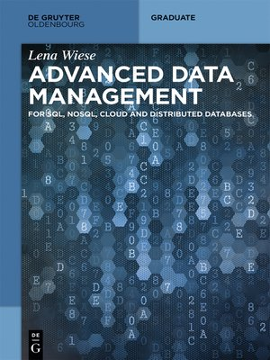 cover image of Advanced Data Management