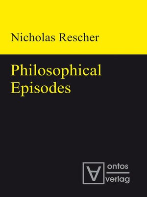cover image of Philosophical Episodes