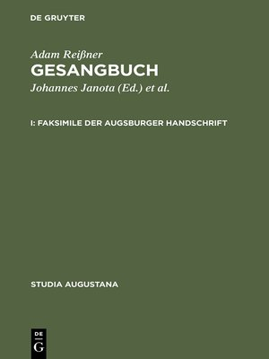 cover image of Gesangbuch