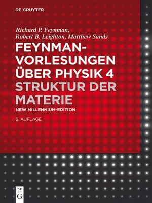 cover image of Struktur der Materie