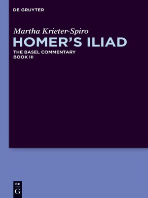 cover image of Homer's Iliad