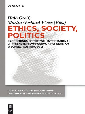 cover image of Ethics, Society, Politics
