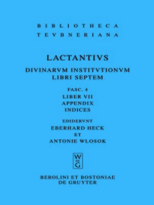 cover image of Liber VII