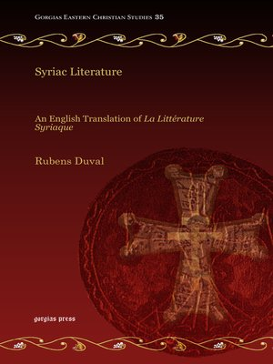 cover image of Syriac Literature
