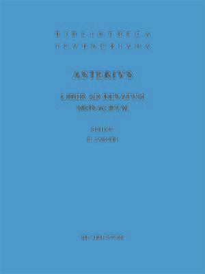 cover image of Liber ad Renatum monachum