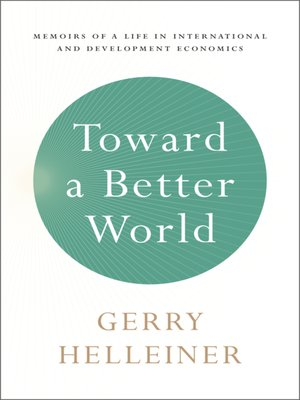 cover image of Toward a Better World