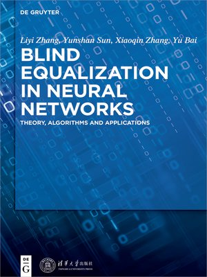 cover image of Blind Equalization in Neural Networks
