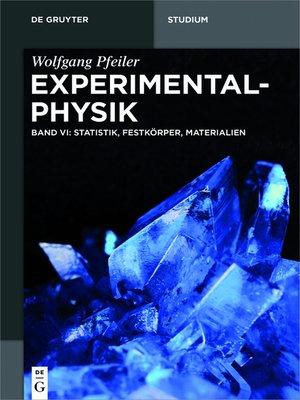 cover image of Statistik, Festkörper, Materialien