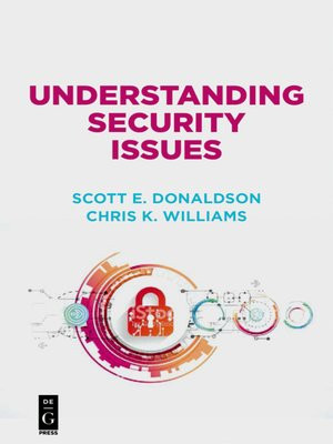 cover image of Understanding Security Issues