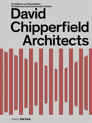 cover image of David  Chipperfield