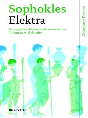 cover image of Elektra