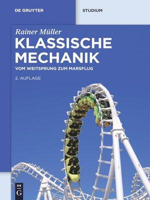 cover image of Klassische Mechanik