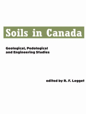cover image of Soils in Canada