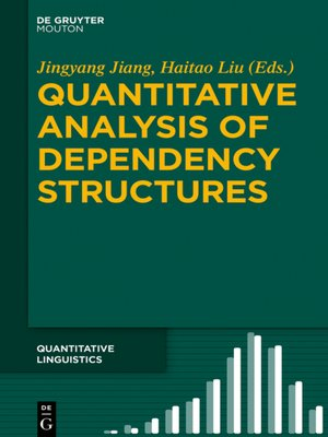 cover image of Quantitative Analysis of Dependency Structures