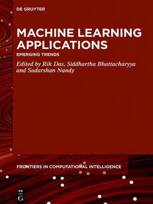 cover image of Machine Learning Applications